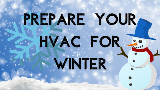 Prepare your HVAC for winter, HVAC Services in Fayetteville NC