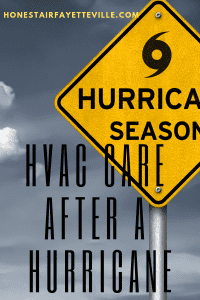 HVAC Care after a Hurricane from Honest Air Fayetteville NC, America.