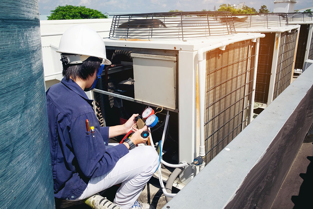 HVAC professionals